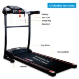 Healthgenie Motorized Treadmill 3911M with silicone Lubricant, Max Speed 10 Kmph