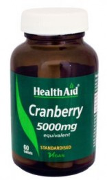 Health Aid Cranberry 5000mg 60 Tablets