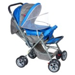 Ador Comfort Baby Stroller 33A Canopy blue