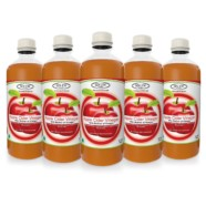 Sinew Nutrition Raw Apple Cider Vinegar with Mother 500ml (Pack of 5) Unfiltered & Unpasteurised