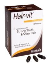Health Aid Hair-Vit Capsules -90 Capsules