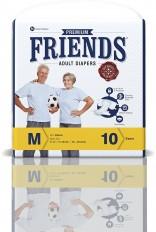 Friends Adult Diaper (Premium) – Medium (10 Count)