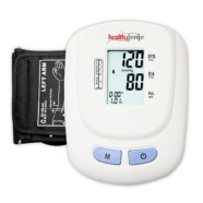 Healthgenie Digital Upper Arm BP Monitor BPM01W Fully Automatic | Irregular Heartbeat Detector | With Adaptor