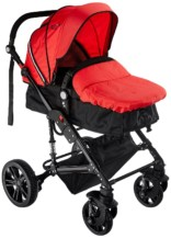 Ador Luxe Baby Stroller 66 Grande Red
