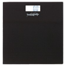 Healthgenie HD-221 Digital Weighing Scale with Back Light (Black Dotted)