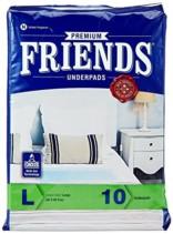 Friends Underpads Premium Large size -10