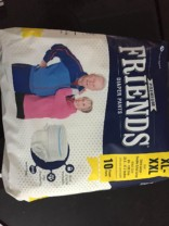Friends Adult Pullups – Extra Large to Double Extra Large (XL-XXL) (Pack of 6)