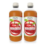 Sinew Nutrition Raw Apple Cider Vinegar with Mother 500ml (Pack of 2) Unfiltered & Unpasteurised