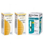 Accu Chek Active 50 Strips & 2 Pack of 25's Lancets Combo