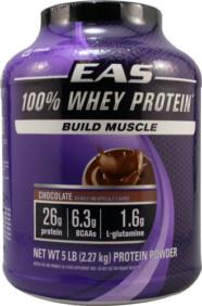 EAS 100% Whey Protein-Chocolate-5 lb