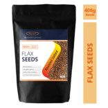 Sinew Nutrition Roasted Flax seed 400 gm