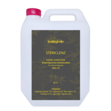 Healthgenie Stericlenz Hand Rub Sanitizer with 70% IPA 5 Ltr