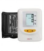 Healthgenie Digital Upper Arm Blood Pressure Monitor (BP Monitor) BPM01 Fully Automatic | Batteries Included | With Adaptor | 2 Year Warranty