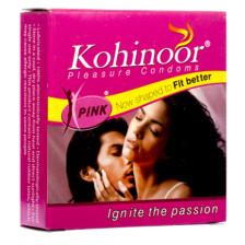 Kohinoor Pink Condom-3 pcs