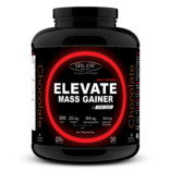 Sinew Nutrition Elevate Mass Gainer, Complex Carb & Proteins in 3:1 ratio with DigiEnzymes, 3kg / 6.6lb – Chocolate