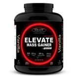 Sinew Nutrition Elevate Mass Gainer, Complex Carb & Proteins in 3:1 ratio with DigiEnzymes, 2kg / 4.4lb – Vanilla Flavour