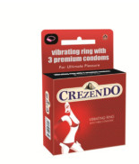 Moods Crezendo Premium Condoms With Ring (3's)
