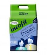 Incofit Premium Adult Diapers-Large, Pack of 20