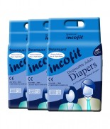 Incofit Adult Diapers (Premium)-Extra Large pack of 30