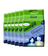 Incofit Premium Adult Diapers-Large, Pack of 60