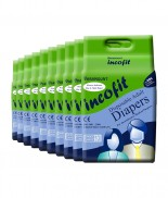 Incofit Premium Adult Diapers-Large, Pack of 100