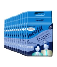 Incofit Adult Diapers (Premium)-Extra Large pack of 120