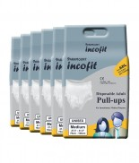 Incofit pull up Adult Diaper Medium pack of 60