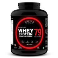 Sinew Nutrition Instantised Whey Protein Concentrate 79% Raw & Unflavoured 2 Kg (66 Servings)