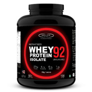Sinew Nutrition Whey Protein Isolate 92% Instantised , Unflavoured  3 Kg / 6.6 Lbs