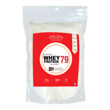 Sinew Nutrition Instantised Whey Protein Concentrate 79% Raw & Unflavoured 360 Gm(12 Servings)