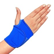 Healthgenie wrist brace with thumb-Neoprene (universal size , high compression 4 way stretch)