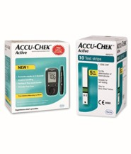 Accu-Chek Active Kit With 10 strip