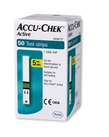 Accu-Chek Active Test Strips 50 Strips