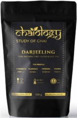Chaiology Darjeeling Black Tea, 300g (150 Cups) | 100% Natural Loose Leaf Tea