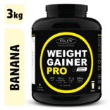 Sinew Nutrition Weight Gainer Pro Banana (3kg)