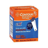 Contour TS Blood Glucose Test Strips-50 strips