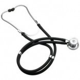 Pulse Wave Rappaport Acoustic Stethoscope-Black