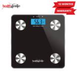 Healthgenie Digital Personal Body Fat Analyzer(HB-311)-Black