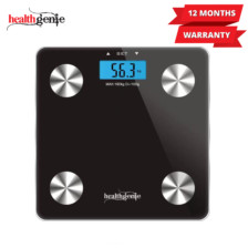 Healthgenie Digital Personal Body Fat Analyzer(HB-311)-Black