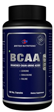 British Nutrition BCAA 180 Capsules