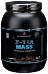 British Nutrition X-Tra Mass – 0.5 kg (Chocolate)