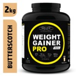 Sinew Nutrition Weight Gainer Pro Butterscotch (2kg)
