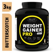 Sinew Nutrition Weight Gainer Pro Butterscotch (3kg)