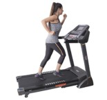 JSB Cardio Max Unisex HF76 Foldable Fitness Motorized Treadmill