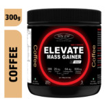 Sinew Nutrition Elevate Mass Gainer, Complex Carb & Proteins in 3:1 ratio with DigiEnzymes, 300gm / 0.66lb – Coffee Flavour
