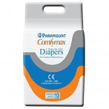 Paramount Comfymax Premium Adult Diapers, Large – Pack of 10, (101cm-150cm | 40″-59″)