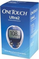 One Touch Ultra 2 Glucose Meter with 25 Free Lancets