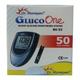 Dr. Morepen Gluco one mini BG-03 with 50 Strips