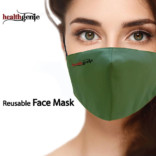 Healthgenie FM 101 Reusable Face Mask Universal Size Pack of 1 (Colors May Vary On Delivery)