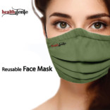 Healthgenie FM 201 Reusable Face Mask Large Size Pack Of 1 (Colors May Vary On Delivery)